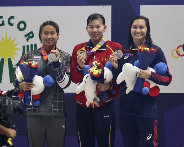 SEA Games ngày 6-12: Ánh Viên lập cú đúp, Việt Nam đoạt 7 HCV - Ảnh 1.