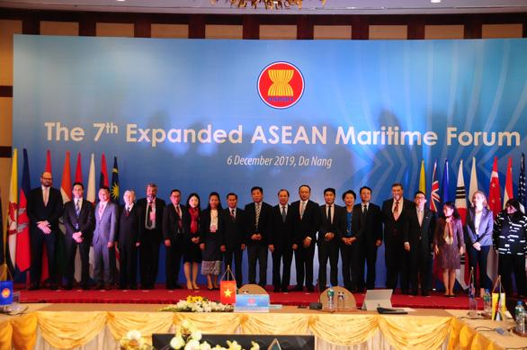 Trung Quốc, Mỹ, Nhật dự Diễn đàn biển ASEAN mở rộng lần thứ 7 - Ảnh 1.