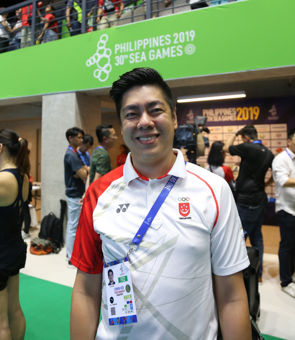 Làng bơi Singapore kinh ngạc khi nghe Ánh Viên thi đấu 12 nội dung - Ảnh 1.