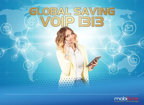 Gọi di động quốc tế giá rẻ bằng Global Saving - Ảnh 1.