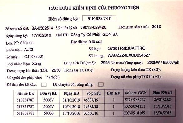 Đã xác định xe giả vụ 2 xe Audi trùng biển số ở Đồng Nai - Ảnh 1.