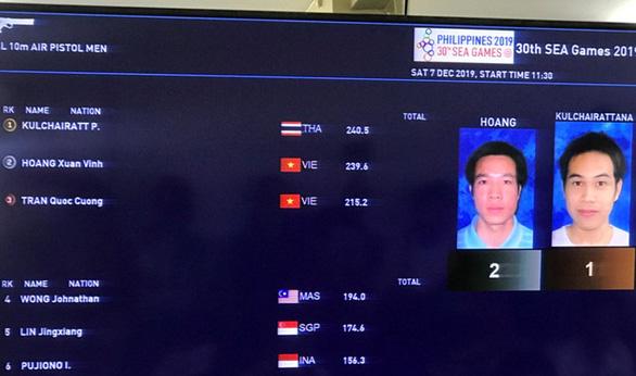 Xuân Vinh lại trượt huy chương vàng ở nội dung vô địch Olympic - Ảnh 1.