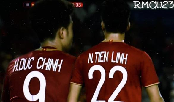 Song sát Tiến Linh - Đức Chinh pressing mạng xã hội - Ảnh 1.