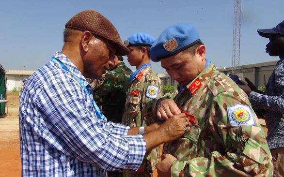 Mũ nồi xanh Việt Nam ở Nam Sudan - Kỳ cuối: Chia tay Bentiu - Ảnh 1.