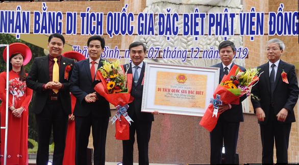 Phật viện Đồng Dương được công nhận là di tích quốc gia đặc biệt - Ảnh 2.