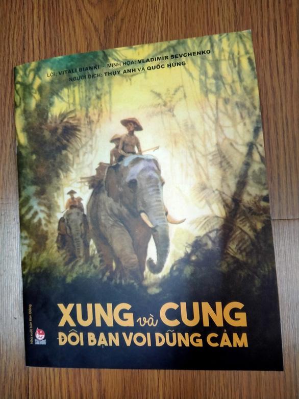 Lần đầu hé lộ chuyện 2 chú voi Việt Nam đến Nga 65 năm trước - Ảnh 1.