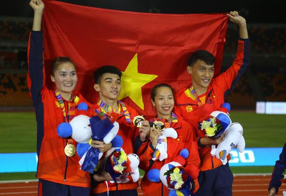 Điền kinh Việt Nam huy chương vàng lịch sử nội dung 4x400m hỗn hợp - Ảnh 2.