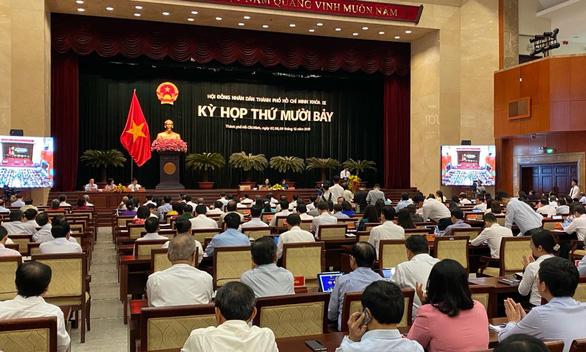 HĐND TP.HCM khai mạc kỳ họp cuối năm 2019 - Ảnh 1.