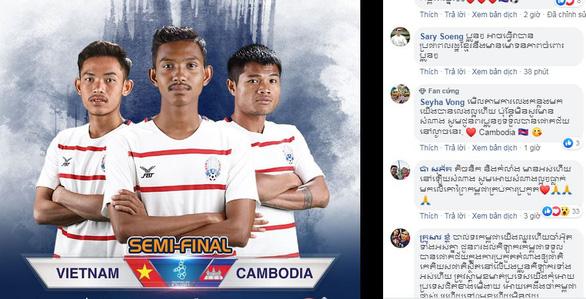 CĐV Campuchia: Chúng ta đã thắng Thái thì sợ gì Việt Nam - Ảnh 1.
