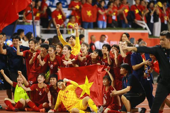Đánh bại Thái Lan, nữ Việt Nam giành huy chương vàng SEA Games 2019 - Ảnh 2.
