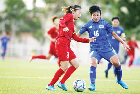 Chung kết bóng đá nữ Việt Nam - Thái Lan: Nóng bỏng cuộc chiến ngôi Hậu - Ảnh 1.