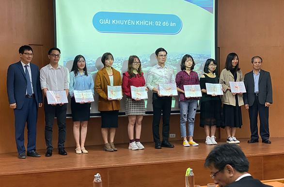 Đồ án sinh viên tốt nghiệp xuất sắc 2019: sinh viên ĐH Duy Tân giành giải khuyến khích - Ảnh 1.