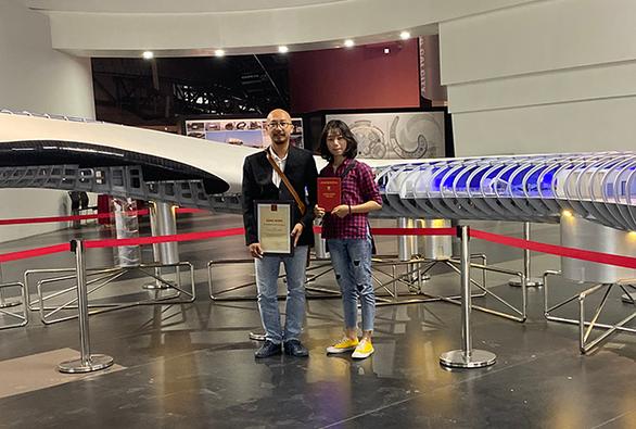 Đồ án sinh viên tốt nghiệp xuất sắc 2019: sinh viên ĐH Duy Tân giành giải khuyến khích - Ảnh 2.