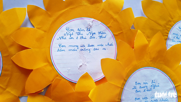 Ngày hội Hoa hướng dương ở Huế: Con ước có một bộ áo quần siêu nhân - Ảnh 5.