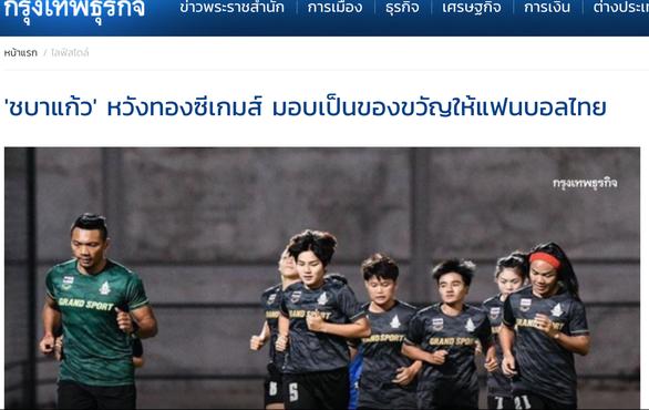 Báo chí Thái Lan: Tuyển nữ sẽ đánh bại Việt Nam để làm quà tặng cổ động viên - Ảnh 1.