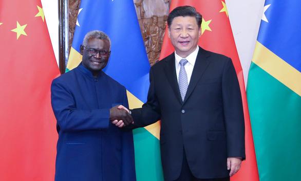 Trung Quốc và Đài Loan đua nhau hối lộ tiền để lôi kéo Solomon? - Ảnh 1.