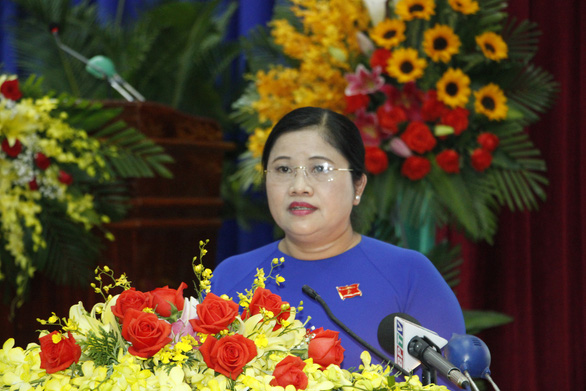 Bà Trần Tuệ Hiền giữ chức chủ tịch tỉnh Bình Phước - Ảnh 2.