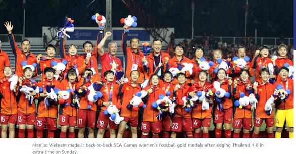 AFC ca ngợi đội tuyển nữ Việt Nam xứng đáng đăng quang - Ảnh 1.