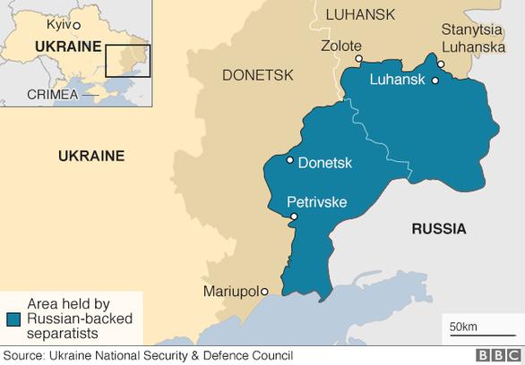 Lần đầu tiên ông Putin gặp tân tổng thống Ukraine - Ảnh 2.