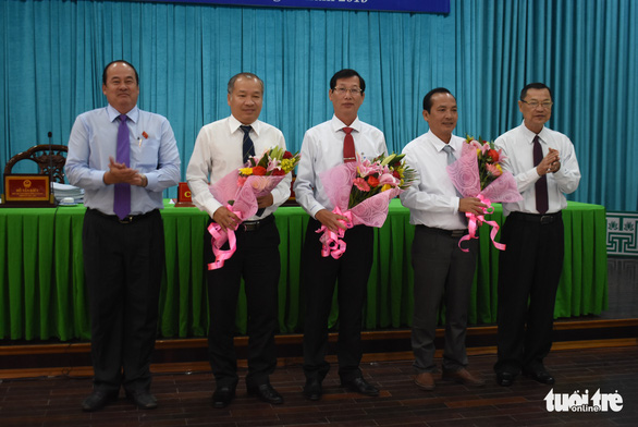 Ông Lê Văn Phước được bầu giữ chức vụ phó chủ tịch UBND tỉnh An Giang - Ảnh 1.