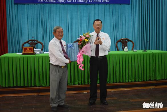 Ông Lê Văn Phước được bầu giữ chức vụ phó chủ tịch UBND tỉnh An Giang - Ảnh 2.