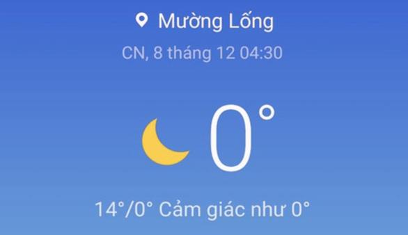 Nhiều vùng núi cao Nghệ An 0 độ C, băng giá phủ cây cối - Ảnh 2.