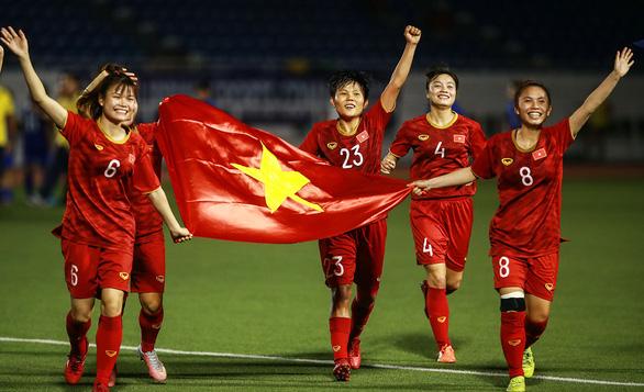 Tuyển nữ Việt Nam đoạt Huy chương vàng: Bản lĩnh và lòng quả cảm - Ảnh 1.