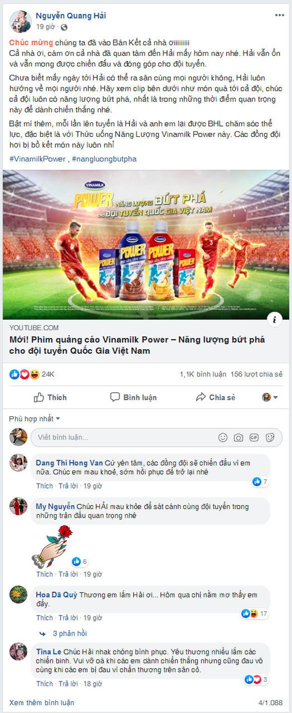 Quang Hải và Văn Hậu chia sẻ năng lượng bứt phá trước thềm trận chung kết - Ảnh 2.