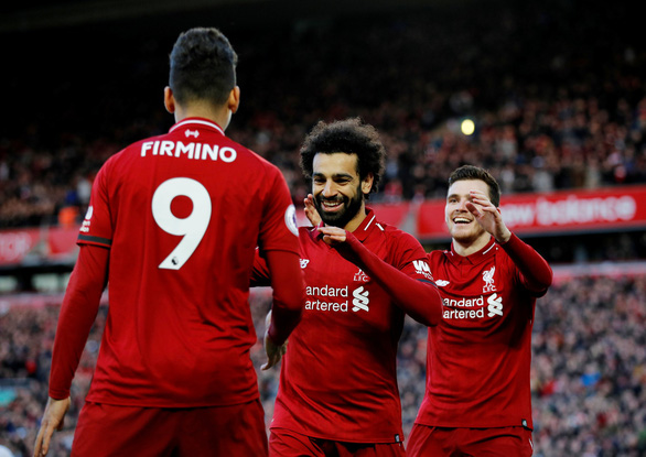Chiếm lại ngôi đầu, Liverpool phả hơi nóng vào đại chiến M.C - Chelsea - Ảnh 1.
