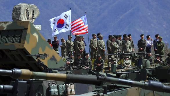 Trước thềm thượng đỉnh Mỹ - Triều, Hàn Quốc tăng tiền đóng góp quân sự - Ảnh 2.