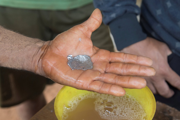 Ở Venezuela, đi đào vàng dễ sống hơn - Ảnh 3.