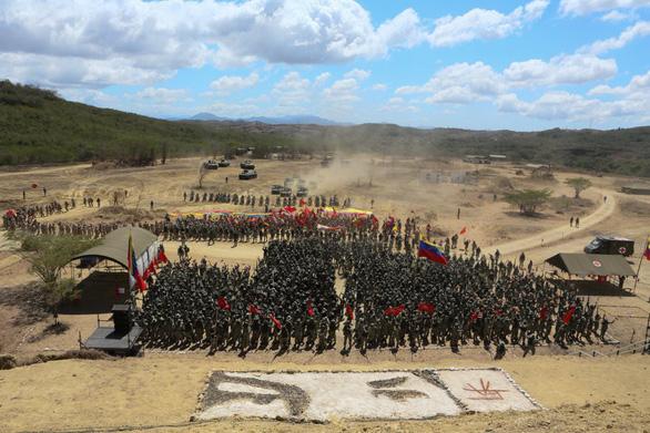 Ông Maduro khởi động cuộc tập trận lớn nhất lịch sử Venezuela - Ảnh 3.