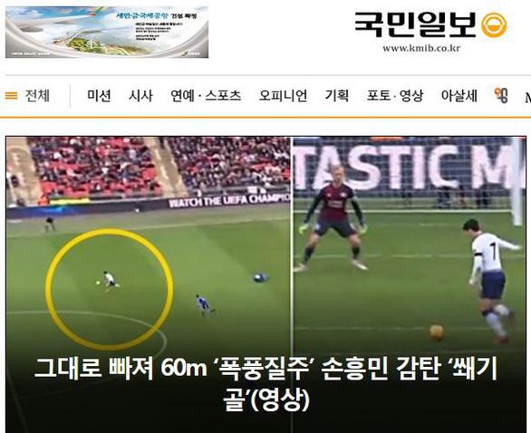 Hàn Quốc lên cơn sốt với siêu phẩm của Son Heung Min - Ảnh 2.