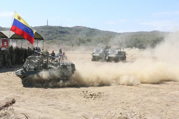 Ông Maduro khởi động cuộc tập trận lớn nhất lịch sử Venezuela - Ảnh 4.
