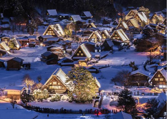 Ngắm tuyết trắng, anh đào ở Nhật Bản tháng 2 - Ảnh 3.