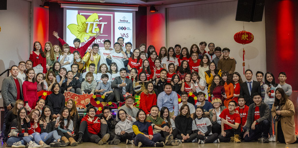 Du học sinh Mỹ, Canada giữa giá rét kỉ lục vẫn ấm nồng Tết Việt - Ảnh 2.