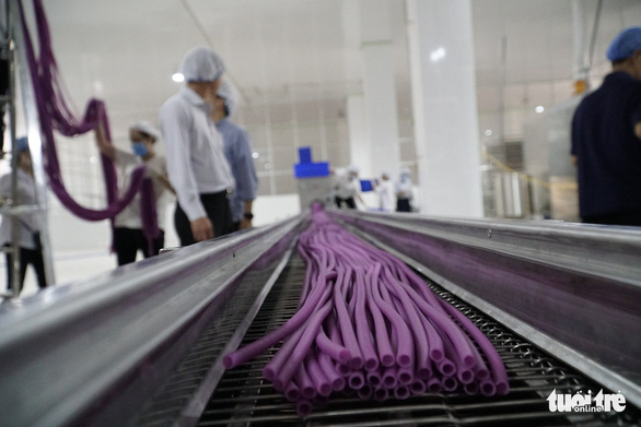 Ống hút làm từ bột thay ống hút nhựa ở làng bột Sa Đéc - Ảnh 1.