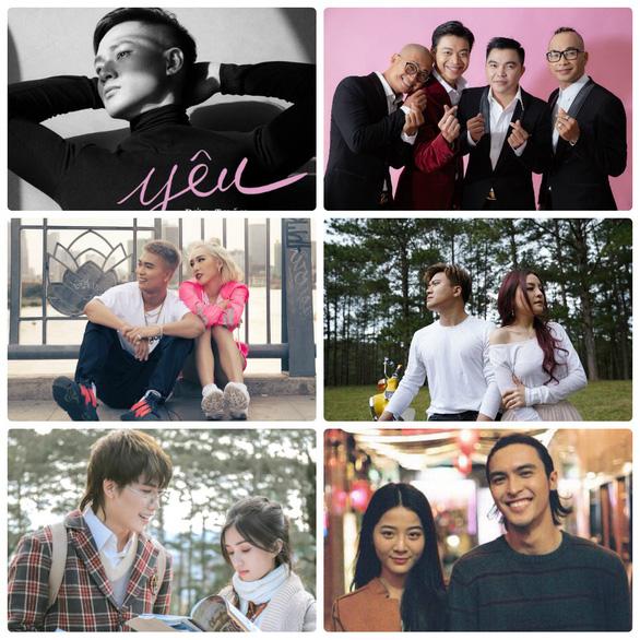 Đĩa đơn, MV, phim ngắn cho Ngày tình yêu Valentine - Ảnh 1.