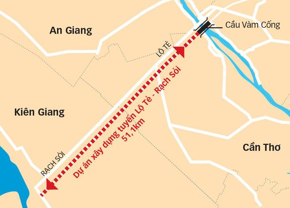Tuyến cao tốc thứ hai về miền Tây đói vốn - Ảnh 2.