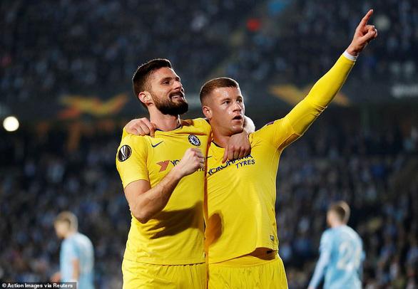 Thắng Malmo, Chelsea hoãn ngày xử HLV Maurizio Sarri - Ảnh 1.