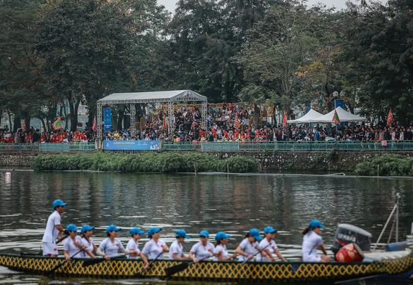 30 đội tham dự lễ hội Bơi chải thuyền rồng mở rộng 2019 - Ảnh 6.