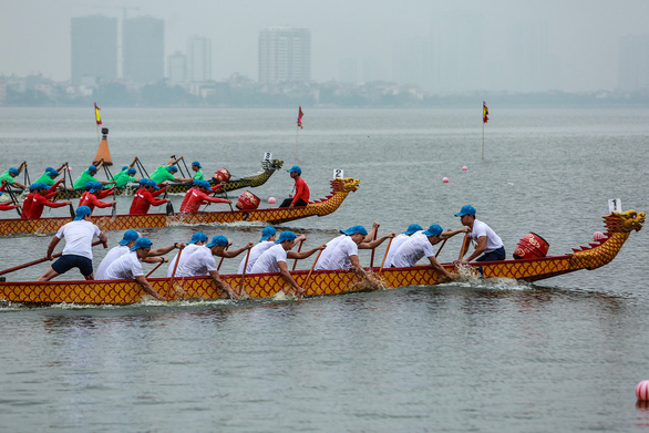 30 đội tham dự lễ hội Bơi chải thuyền rồng mở rộng 2019 - Ảnh 5.