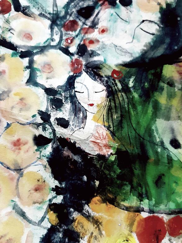 Người phụ nữ cần trồng một cây hoa - Ảnh 1.