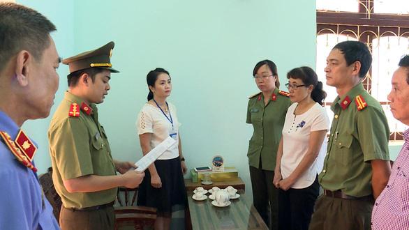 Cán bộ bảo vệ kỳ thi tiếp tay gian lận điểm thi THPT quốc gia - Ảnh 1.