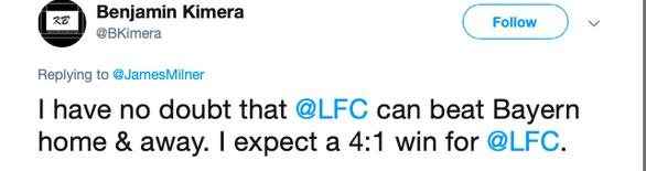 CĐV Liverpool: Liverpool sẽ thắng Bayern Munich 4-1 - Ảnh 3.