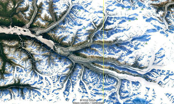 Ngắm Trái đất muôn vẻ từ Google Earth - Ảnh 1.