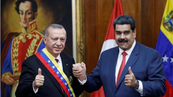 Thổ Nhĩ Kỳ bị cảnh báo vì giao dịch vàng với Venezuela - Ảnh 2.