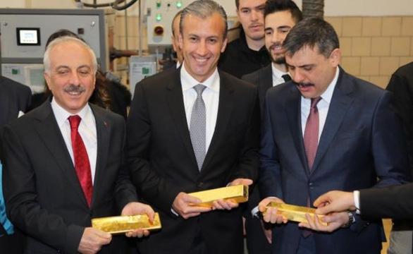 Thổ Nhĩ Kỳ bị cảnh báo vì giao dịch vàng với Venezuela - Ảnh 1.