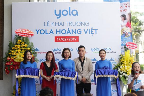 Yola khai trương trung tâm anh ngữ mới tại quận Tân Bình - Ảnh 1.
