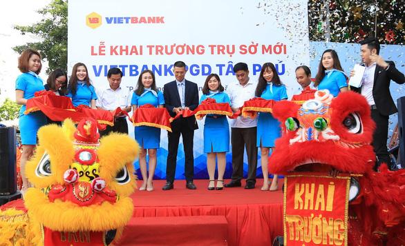 Vietbank Tân Phú khai trương trụ sở mới - Ảnh 1.